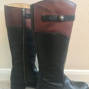 Frye Melissa Button Riding Boots 7.5